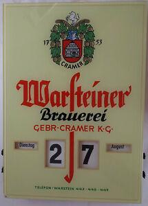DREHKALENDER *Warsteiner Brauerei *