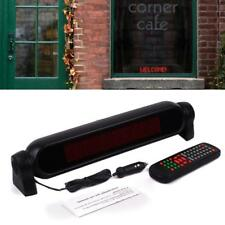 LED Car Sign Programmable Video Plate Scrolling Sign Information Display Screen