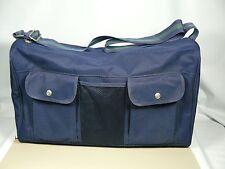 Navy Blue TOMMY HILFIGER CLASSICS Tote Soft Side Carry on Shoulder Strap Gym Bag