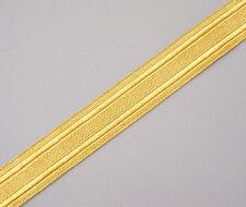 "Gold Military Braid. Pilot Galon. Uniform. Army, Navy. Vestment. 5 Yards,1"" Wide"
