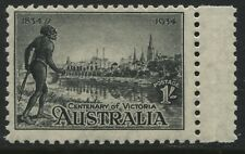 Australia 1934 Victoria Centenary 1/ black unmounted mint NH