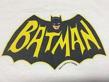 Vintage Batman Ringer Medium T-Shirt DC Comics Cartoon Movie Justice League