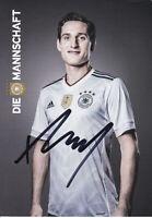 Sebastian RUDY - DFB-Nationalspieler, DFB-Karte Confed-Cup 2017, Original!