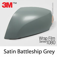 20x30cm FILM Satin Battleship Grey 3M 1080 S51 Vinyle COVERING New Series Wrap