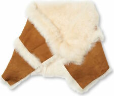 UGG Scarf Foxley Chestnut Sheepskin Toscana Collar Snood NWD $550