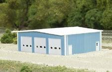 N Gauge Building Kit Fire station 8009 Neu