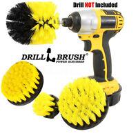 4PCS Electric Drill Brush Cleaning Brush Head Kit Tool For Floor Shower Tile