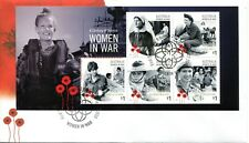 2017 A Century of Service! Women in War (Mini Sheet) FDC - Canberra ACT 2600 PMK
