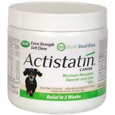 Actistatin Canine Extra Strength Soft Chews Small Bites 120 ct