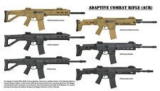 Firearms Gun POSTER ACR Adaptive Combat Rifle Carbine Bushmaster 20x35 inch