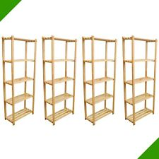 4er Set Shelf 170cm x 65cm x 28cm Wood for Folder Files Books Soes Archiv New
