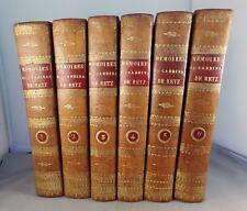 MEMOIRES DU CARDINAL DE RETZ, DE GUY JOLI ET DE LA DUCHESSE DE NEMOURS / 1820