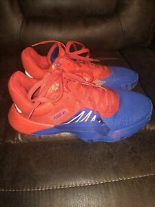 Adidas DON Issue #1 Red/Blue Spider-Man Shoes Size 9.5 (READ DESCRIPTION) 8.5