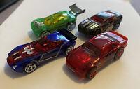 2007 Hotwheels Phantom X-Raycers Lot Of 4! From 5 Pack! Mint! Loose!