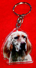 porte-cles chien setter anglais 1a dog keychain llavero perro schlusselring hund