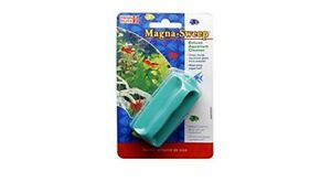 PENN PLAX Mini Magna Sweep Cleaning MAGNET SCRAPER. FREE SHIP TO THE USA