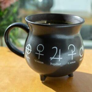 Alchemy Cauldron Ceramic Porcelain Coffee Mug Soup Bowl Earth Venus Jupitar Etc