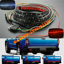 60 in Truck SUV Tailgate Red White LED Light Bar Turn Signal Brake Reverse Light