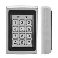 Controllo accessi password metallo lettore RFID con tastiera retroilluminata