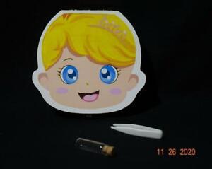 PAMBO Baby Tooth Fairy Keepsake Wood Baby Girl keepsake storage Memory box  A&B