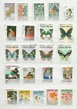 GUINEA BISSAU    - LOT OF 71  STAMPS  - 3 IMAGES