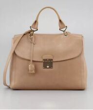 Marc Jacobs Beige Leather Purse Gold Key Handbag New With Tags $1495