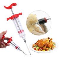 Marinade Injector Meat Syringe Steak Chicken Turkey BBQ Doughnut Tool Flavour