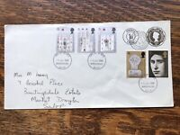 Gb Fdc 1969 Investiture Prince Charles , Fourpence Embbossed Stamp