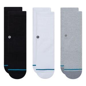 Stance NEW Boys Icon ST Kids 3 Pack Socks - Multi - BNWT