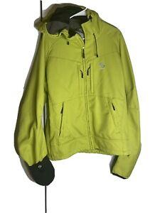 loki ski jacket size L green