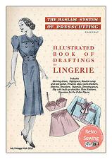 Le Haslam système de la Couture Lingerie années 1930