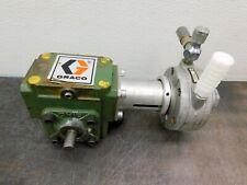 Graco Pressure Tank Paint Pot Gast Motor Agitator Mixer With Gearbox Ohio Gear