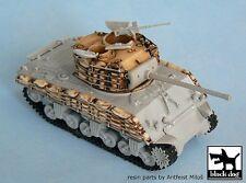 Black Dog 1/72 M4A3(76)W VVSS Sherman Tank Sandbags Set (for Dragon 7271) T72008