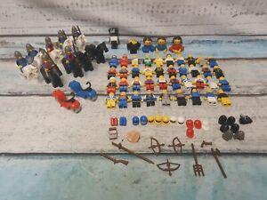 VINTAGE LEGO FIGURES BUNDLE KNIGHTS SPACE