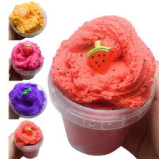 2Pcs Fairy Floss Fruit Slime Mud Stress Relief Kids Toy Gifts