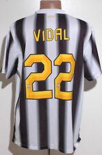 JUVENTUS ITALY 2011/2012 HOME FOOTBALL SHIRT JERSEY NIKE VIDAL #22 SIZE XL ADULT
