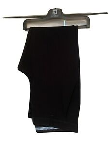Mens FootJoy FJ Golf Black Trousers - Size W34 L31