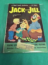 Jack and Jill  MAGAZINE July 1961 A Shari Lewis Exclusive TV Story