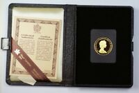 1980 Canada $100 1/2 Oz Gold Proof Coin with Presentation Case & COA NO BOX