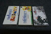 FINAL FANTASY IV.V.VI FF 4.5.6 set Nintendo Super Famicom SNES Japan Box Manual