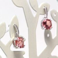 New Solid 925 Sterling Silver Color Zulatanite Gemstones Jewelry Drop Earrings