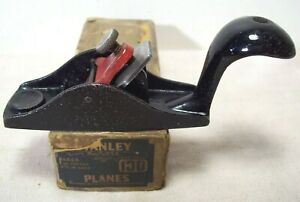 1920's~STANLEY RULE & LEVEL CO.~#100 SWEETHEART~SQUIRREL TAIL BLOCK PLANE w/BOX~