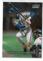 2018 Topps stadium club chrome parallel Darryl Strawberry SCC-4 New York Mets