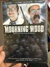 Mourning Wood brand NEW/SEALED region1 DVD (2010 zombie horror movie) rare