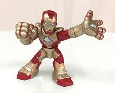 Marvel Super Hero Squad IRON MAN Target Exclusive Modern Suit Red Gold Armor 025