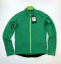 Mavic Aksium Thermo LS Jersey Green Size Men's Small New