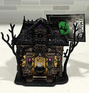 Bath & Body Works Halloween Haunted House Nightlight Projector Wallflower Plug