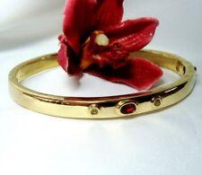 Magnifique Pierre Lang bracelet plaqué or Armschmuck avec pierres/CJ 700