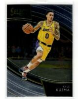2018 Panini Select Basketball Kyle Kuzma SP Courtside #277 Los Angeles Lakers