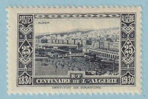 ALGERIA B17 SEMI-POSTAL  MINT LIGHTLY HINGED OG * NO FAULTS EXTRA FINE!